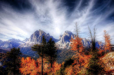 Photograph - Autumn In The Italian Dolomites by Pixabay