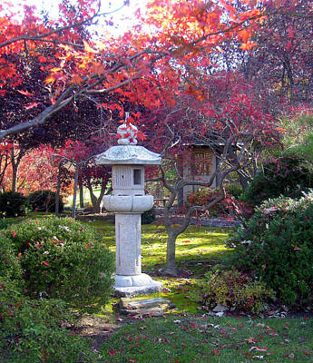 Autumn In The Japanese Garden Original