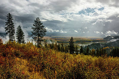 Photograph - Autumn In The Kootenai River Valley by Albert Seger