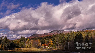 Photograph - Autumn In The Mad River Valley, Vermont. by New England Photography