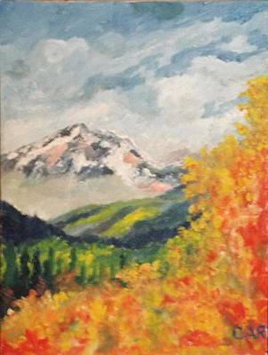 Painting - Autumn In The Mountains by Charles Ray