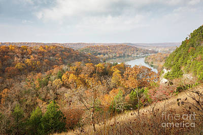 Photograph - Autumn In The Ozarks by Dennis Hedberg