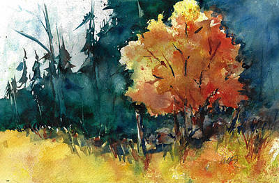 Painting - Autumn In The Ozarks by Jacki Kellum