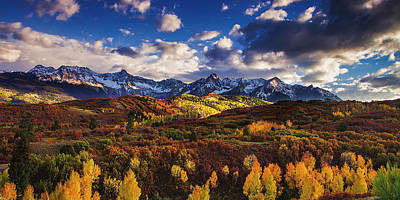 Autumn In The Rockies Art Print by Andrew Soundarajan