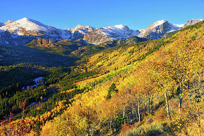 Autumn Photograph - Autumn In The Rockies by Greg Norrell