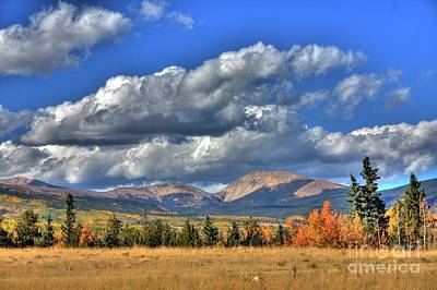Photograph - Autumn In The Rockies by Tony Baca