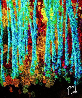 Digital Art - Autumn In The Sangre De Cristos by Terry Fiala