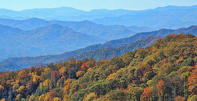 Photograph - Autumn In The Smokies By H H Photography Of Florida by HH Photography of Florida
