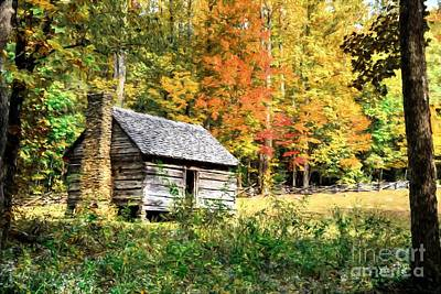 Photograph - Autumn In The Smoky Mountains # 2 by Mel Steinhauer