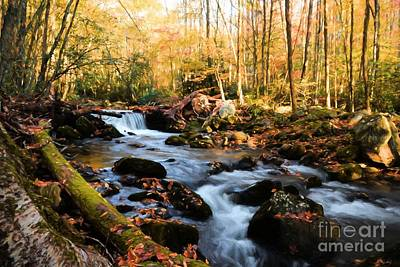 Photograph - Autumn In The Smoky Mountains # 3 by Mel Steinhauer
