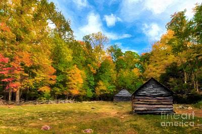 Photograph - Autumn In The Smoky Mountains # 4 by Mel Steinhauer