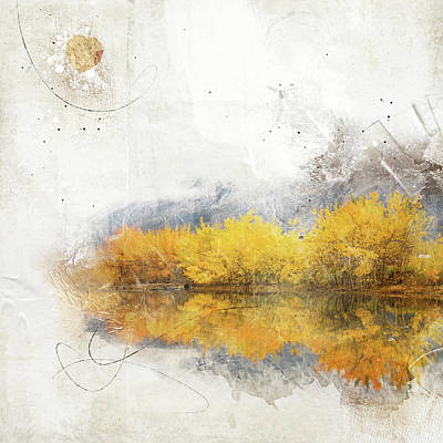 Altered Art Photograph - Autumn In The Yukon by Margaret Goodwin