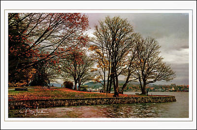 Photograph - Autumn In Vancouver by Norma Warden