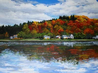 Autumn In Vermont  Art Print