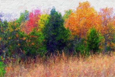 Painting - Autumn In Watercolour by Autumn Scenes