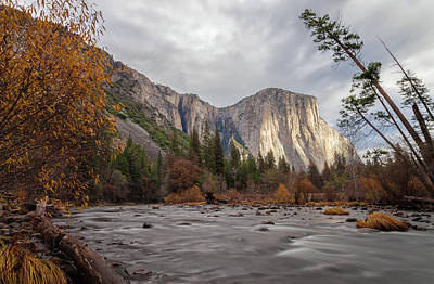 Photograph - Autumn In Yosemite by Jonathan Nguyen