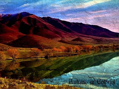 Digital Art - Autumn Is Colorful by Nancy Pauling