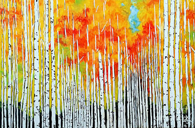Autumn Art Print by Jackie Carpenter