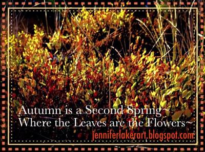 Photograph - Autumn  by Jennifer Lake