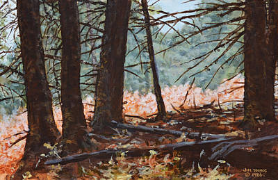 Mental Painting - Autumn by Jim Young