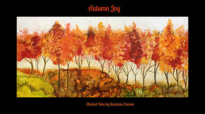 Painting - Autumn Joy by Suzanne Canner