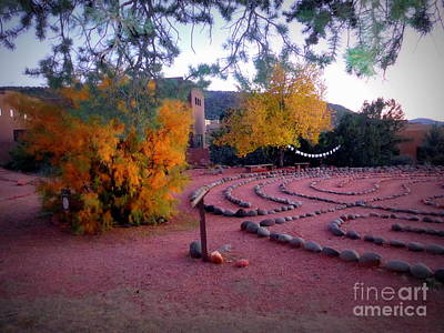 Photograph - Autumn Labyrinth by Marlene Rose Besso