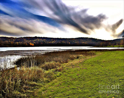Photograph - Autumn Lake 2 by Raymond Earley