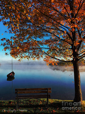 Painting - Autumn Lake by Chris Armytage