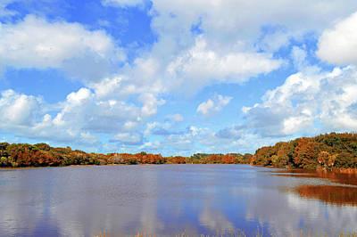 Autumn Photograph - Autumn Lake Colors by Ken Figurski