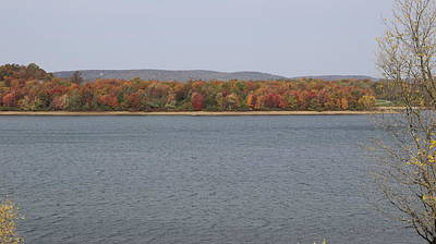 Photograph - Autumn - Lake Marburg by Donald C Morgan