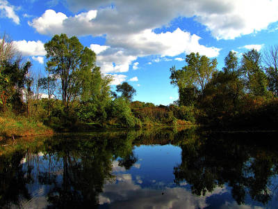 Photograph - Autumn Lake by Scott Hovind