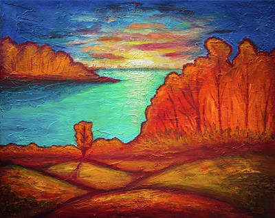 Painting - Autumn Landscape-3 by Lilia D