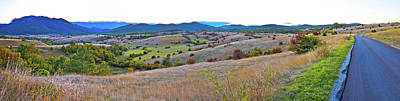 Photograph - Autumn Landscape Of Lika Region Paoramic View by Brch Photography