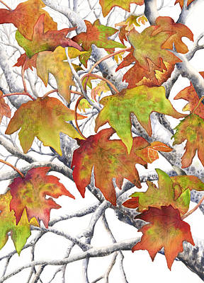 Painting - Autumn Leaves by Autumn Leaves