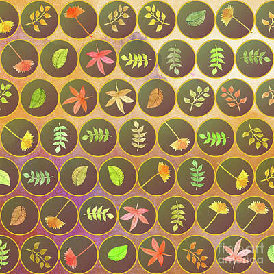 Autumn Leaves Art Print by Gaspar Avila