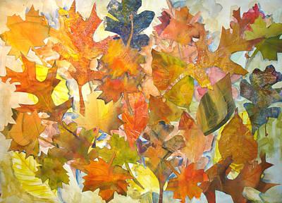 Autumn Leaves Art Print by Joyce Kanyuk