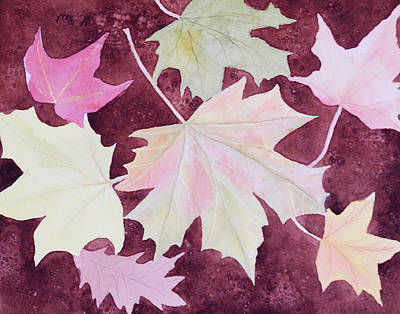 Painting - Autumn Leaves by Laurel Best