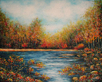 Painting - Autumn Leaves by Natalie Holland