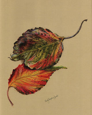 Painting - Autumn Leaves by Sandy Murphree Jacobs