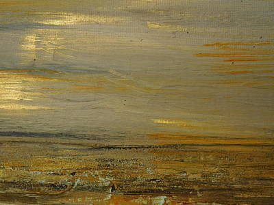 Talacre Painting - Autumn Leaves by Susan Wooler
