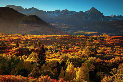 Autumn Light Art Print by Andrew Soundarajan