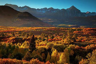Mountain Photograph - Autumn Light by Andrew Soundarajan
