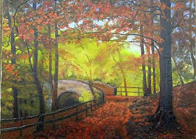 Painting - Autumn Light by Grace Diehl