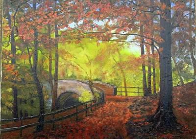 Painting - Autumn Light by Grace Diehl