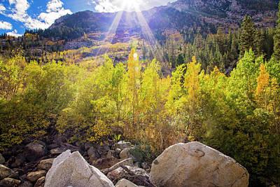 High Sierra Photograph - Autumn Lights by Lynn Bauer