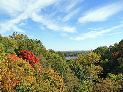Photograph - Autumn Lookout by Jamie Johnson