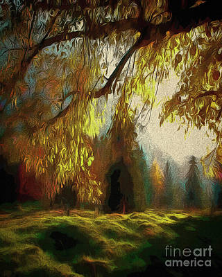 Digital Art - Autumn Magic by Edmund Nagele