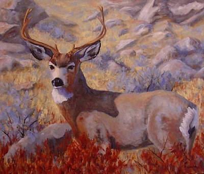 Painting - Autumn Majesty by Debra Mickelson