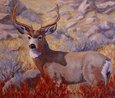 Autumn Majesty Art Print by Debra Mickelson
