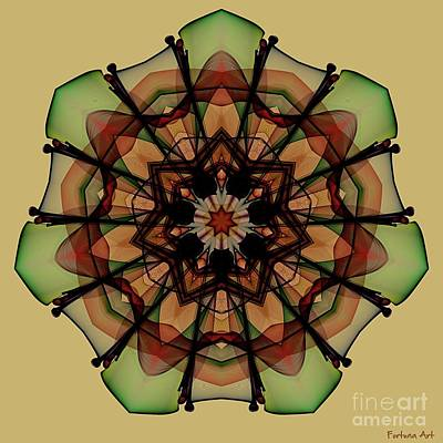 Digital Art - Autumn Mandala by Dragica Micki Fortuna